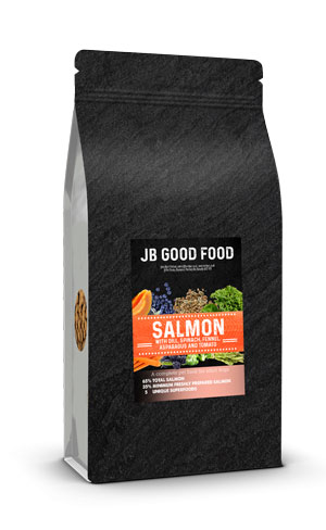 Superfood Salmon dog food